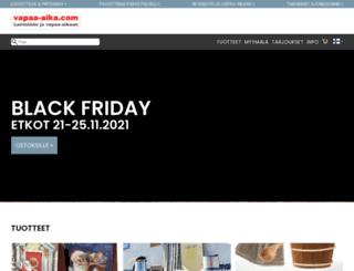vapaa-aika.com screenshot