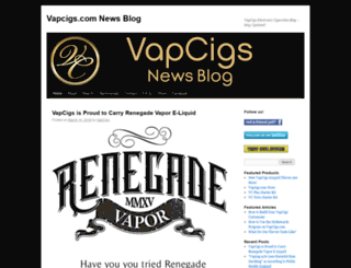 vapcigsblog.com screenshot