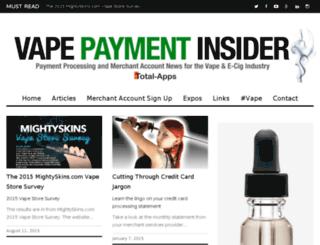 vape.total-apps.com screenshot