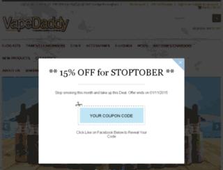 vapedaddy.co.uk screenshot