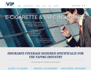 vapeinsurancepros.com screenshot