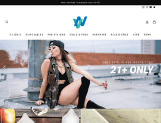 vapenw.com screenshot