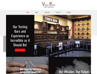vapepros.net screenshot