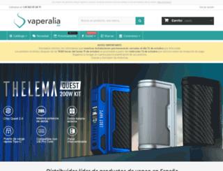 vaperalia.es screenshot