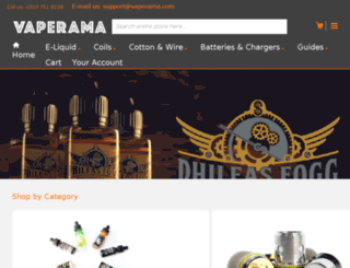 vaperama.com screenshot