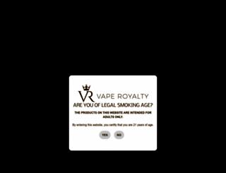 vaperoyalty.com screenshot