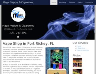 vapeshopportrichey.com screenshot