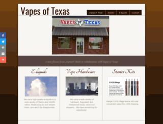 vapesoftexas.com screenshot