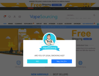 vapesourcing.com screenshot