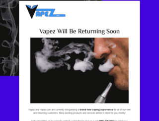 vapez.com screenshot
