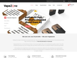 vapezone.com.au screenshot