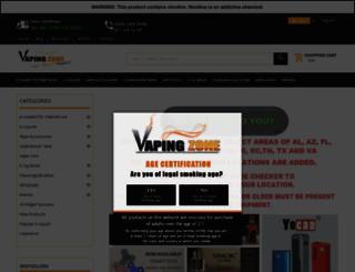 vapingzone.com screenshot
