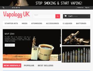 vapologyuk.com screenshot