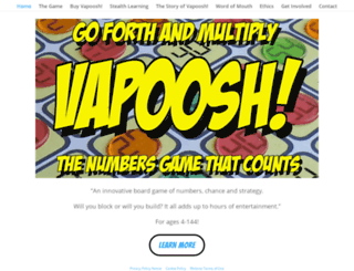 vapoosh.com screenshot