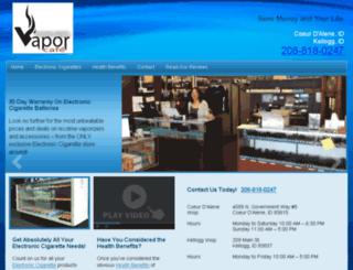 vaporcafecda.com screenshot