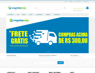 vaporemio.com screenshot