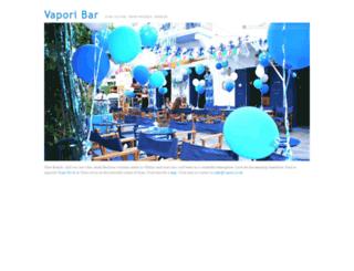 vapori.co.uk screenshot
