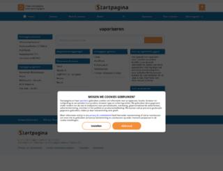 vaporiseren.startpagina.nl screenshot
