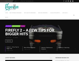vaporizer-review.com screenshot