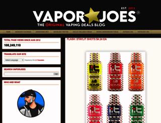vaporjoe.blogspot.com.ar screenshot