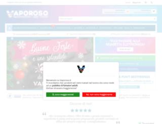 vaporoso.it screenshot