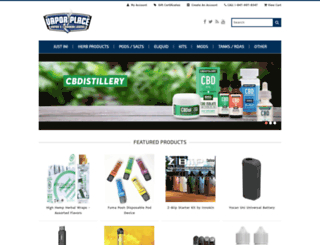 vaporplace.com screenshot
