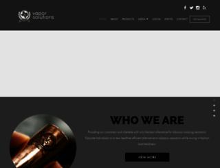 vaporsolutionstx.com screenshot