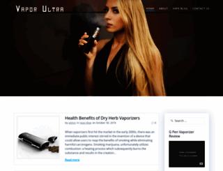 vaporultra.com screenshot