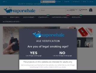 vaporwhale.com screenshot