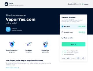 vaporyes.com screenshot