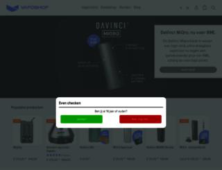 vaposhop.nl screenshot