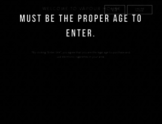 vapourhousesac.com screenshot