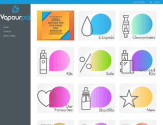 vapourpal.com screenshot