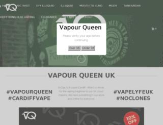 vapourqueen.com screenshot