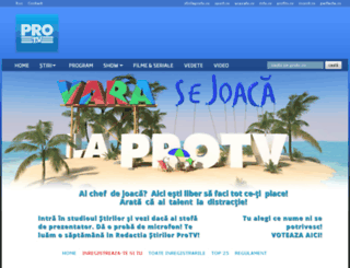 vara2012.protv.ro screenshot