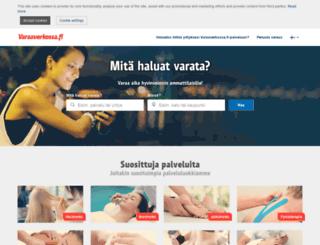 varaaverkossa.fi screenshot