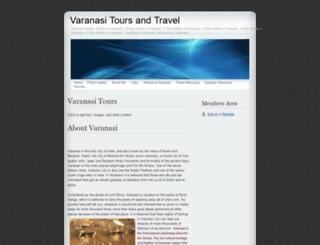 varanasitours.webs.com screenshot