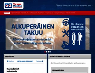 varaosamaailma.fi screenshot