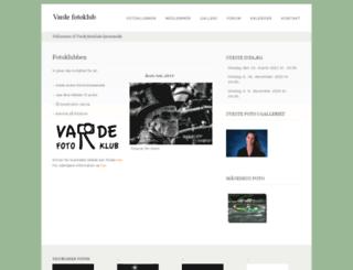 vardefotoklub.dk screenshot