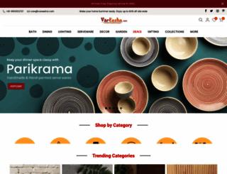 vareesha.com screenshot