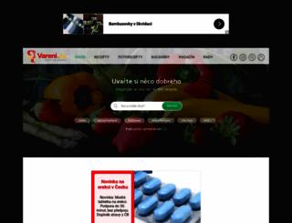 vareni.cz screenshot