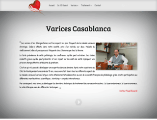 varices-casablanca.ma screenshot