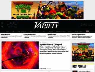 variety.com screenshot