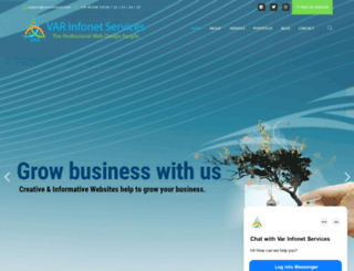 varinfotech.com screenshot