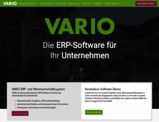 vario-software.de screenshot