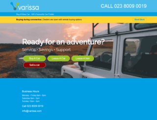 varissa.com screenshot