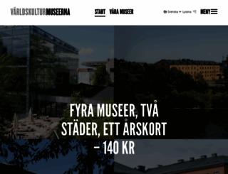 varldskulturmuseerna.se screenshot