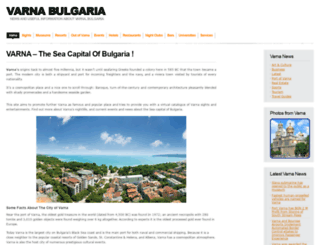 varna-bulgaria.info screenshot