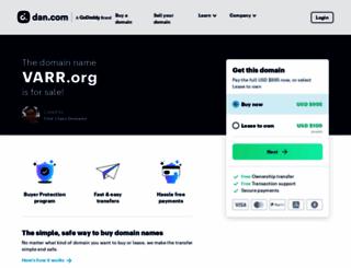 varr.org screenshot
