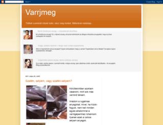 varrjmeg.blogspot.hu screenshot
